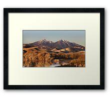 Mount Diablo, California Framed Print