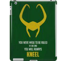 Loki of Asgard iPad Case/Skin