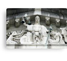 Old Supreme Court Singapore Canvas Print