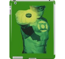 Hal Jordan, Will Power. iPad Case/Skin