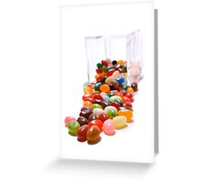 Spill the beans Greeting Card
