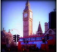 WestminsterIntersection Photographic Print