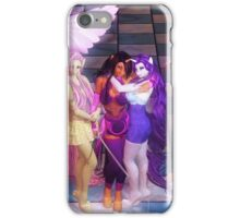 My Little Pony Rise of the Anthros Wallpaper iPhone Case/Skin