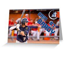 Cain Brady, CSN, Baseball Greeting Card