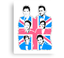 British men Canvas Print