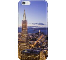San Francisco Financial District Aerial View iPhone Case/Skin