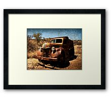 The Old Ford Truck ~ Ruby, Arizona Framed Print