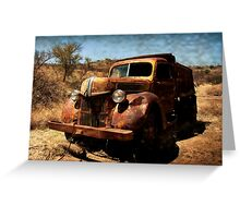 The Old Ford Truck ~ Ruby, Arizona Greeting Card