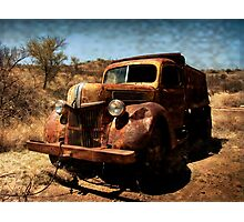 The Old Ford Truck ~ Ruby, Arizona Photographic Print