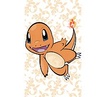 Fancy Charmander Photographic Print