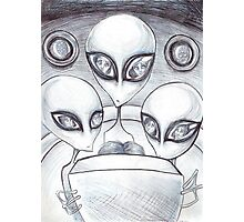 Alien Abductee trip Photographic Print