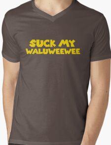 Suck my Waluweewee Mens V-Neck T-Shirt