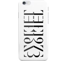 The 1975 Reflected Logo iPhone Case/Skin