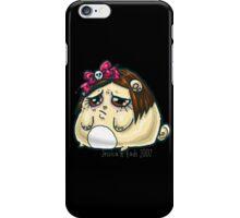 Sad kawaii hamsterpuff iPhone Case/Skin