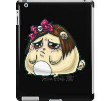 Sad kawaii hamsterpuff iPad Case/Skin