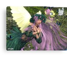 Fluttershy's Lullaby Canvas Print