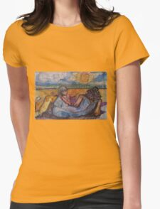 BEACH FOR TWO(C1996) Womens Fitted T-Shirt