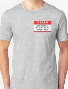 SuperNatural Castiel Quote Unisex T-Shirt