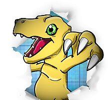 Digimon 15th Anniversary - Agumon by JJJericho