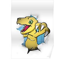 Digimon 15th Anniversary - Agumon Poster