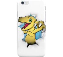 Digimon 15th Anniversary - Agumon iPhone Case/Skin