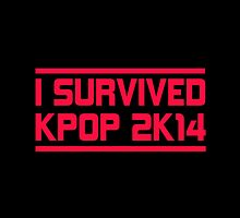 I SURVIVED KPOP 2K14 - BLACK by Cynthia Adinig