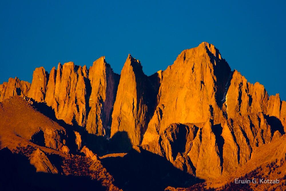 Mount Whitney Sunrise by Erwin G. Kotzab