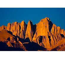 Mount Whitney Sunrise Photographic Print