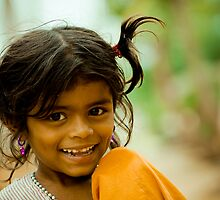 Cute Little Girl by Chetan R