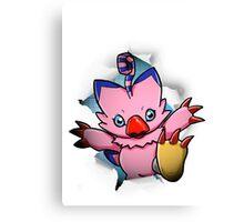Digimon 15th Anniversary - Biyomon Canvas Print