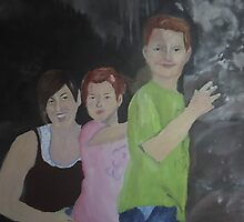 Lisa and Her Children by Joslyn Lindahl