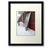 Screen Doors Framed Print