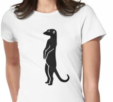Meerkat Womens Fitted T-Shirt