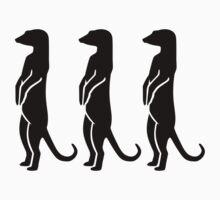 Meerkats One Piece - Short Sleeve