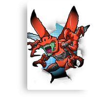 Digimon 15th Anniversary - Kuwagamon Canvas Print