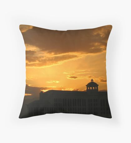 Bellagio Silhouette Throw Pillow