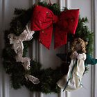 Christmas wreath by ArtBee