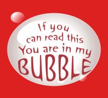 My Bubble - Red by Oubliette