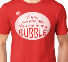 My Bubble - Red Unisex T-Shirt