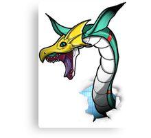 Digimon 15th Anniversary - Seadramon Canvas Print