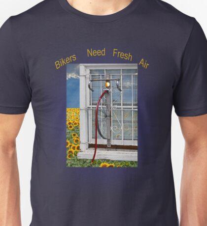 Bikers Need Air Unisex T-Shirt