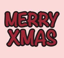 Merry Xmas Christmas One Piece - Long Sleeve