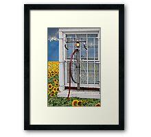Bikers Need Fresh Air Framed Print