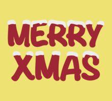 Merry Xmas christmas snow One Piece - Short Sleeve
