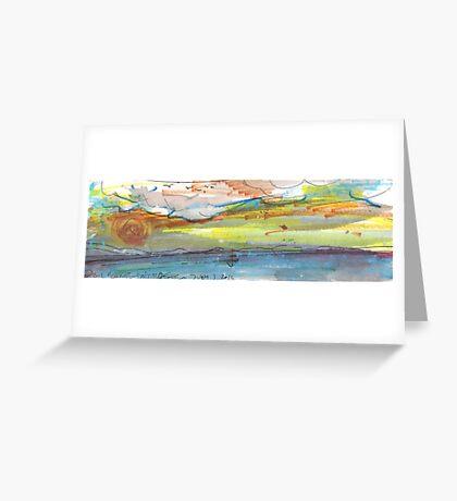 LONE SAIL(C2012) Greeting Card