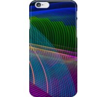 Abstract Colours Long Exposure Phone Art 3 iPhone Case/Skin