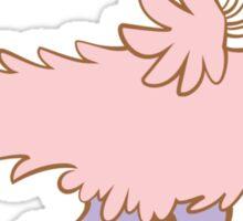 Feathery Dinosaurs - Velociraptor Run Sticker