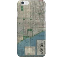 Chicago Vintage Map iPhone Case/Skin