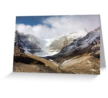 The Columbia Icefields Greeting Card