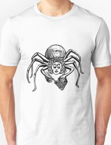 Tess, Knitting Spider Unisex T-Shirt